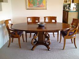 hand crafted kitchen tables ideas of table endearing dining tables 54 round table set oval