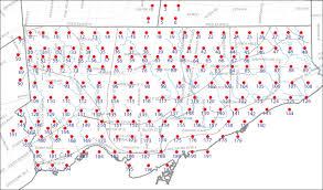 Map Of Toronto 1953 Aerial Photographs Maps City Of Toronto