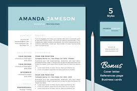 resume cv template word and pages resume templates creative