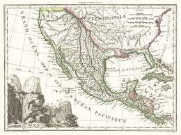 Map Mexico File 1810 Tardieu Map Of Mexico Texas And California