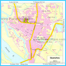 kbcc map map of quanzhou vacations travel map