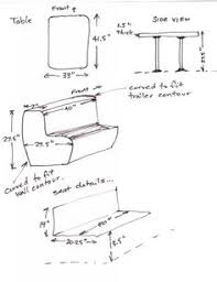 Rv Dinette Booth Bed Frontier Lounge Rv Camper Dinette Motor Home Furniture Converts