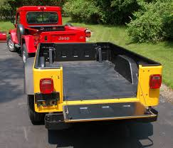 jeep wrangler cargo trailer bolt together fiberglass jeep tub trailer kit expedition portal