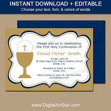 holy communion invitations holy communion invitations editable communion