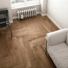 chevron related postpaint ceramic tile floor to look like wood