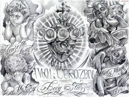 gangsta tattoos design