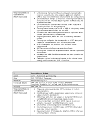Sap Abap Sample Resume by Cv Tanveer Alam
