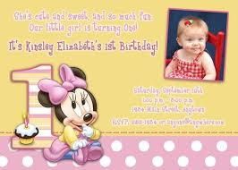 free download minnie mouse 1st birthday invitations template