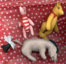 winnie the pooh eeyore figurine eeyore ornaments tree ideas