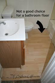 Diy Bathroom Flooring Ideas Excellent Decoration Diy Bathroom Floor How To Tile A Floordiy