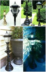 outdoor light post fixtures outdoor solar lamp post lights u2013 chicago