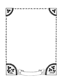 simple page border designs to draw free download clip art free