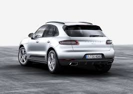 porsche car 2016 porsche macan model with turbocharged four cylinder engine joins