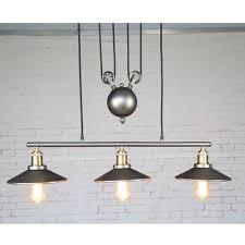 industrial pulley pendant light lighting splendid new loft america lifting pendant lights creative