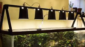 diy standing light fixture vivarium terrarium aquarium etc
