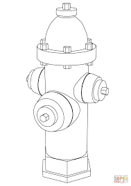 fire hydrant coloring page free printable coloring pages