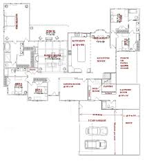 5 Bedroom Floor Plans 1 Story Perfect One Story Home Plans With Wrap Around 5791 Homedessign Com