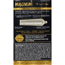 trojan magnum thin large size lubricated latex condoms 12 ct trojan magnum thin large size lubricated latex condoms 12 ct walmart com