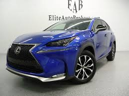 lexus crossover 2016 2016 used lexus nx 200t awd 4dr f sport at elite auto brokers