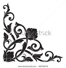 vector floral ornament stock vector 63142651