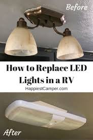 how to replace lights in a rv replacing rv led lights is simple