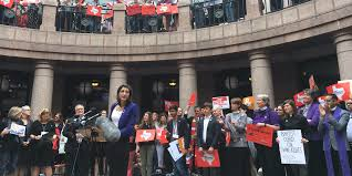 transgender advocates allies rally against texas u0027s bathroom bill sb6