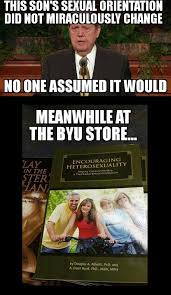 Byu Meme - another gem from the byu memes fb page exmormon