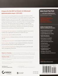 oca oracle database 12c administrator certified associate study