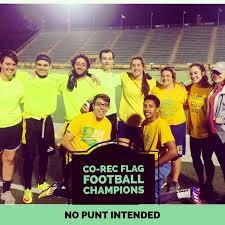 Intramural Flag Football Intramural Sports