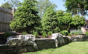 Garden Rock Wall Retaining Wall Construction Professionals Autumn Leaf