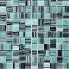 green mosaic glass tile backsplash with how to install glass tile