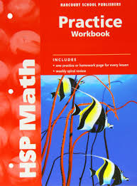 hsp math practice workbook grade 4 harcourt publishers