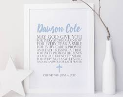Personalized Baby Dedication Gifts Baby Dedication Etsy