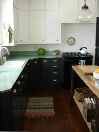 best degreaser for painted kitchen cabinets easy weekend project diy painted cabinets the everygirl