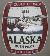 Alaska pilot travel centers images Alaska bush pilot t shirt men 39 s xl beige gildanultracotton jpg