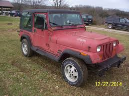 wrangler jeep pink 1987 jeep wrangler sport utility vehicle 2 door 4x4 with hard top
