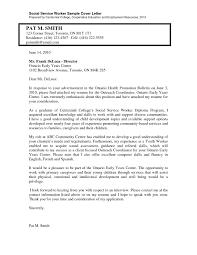 specimen of cover letter for job application prepossessing resume cover letters for social work position in