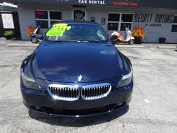 bmw 6 series 650i convertible in florida for sale used cars on