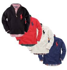 polo ralph lauren toddler boys french rib half zip toddler boy