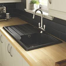 modern kitchen sink with metal tap and black marble best 25