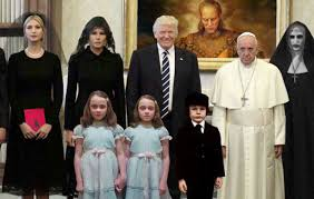 The Trump Family by Readers Sent Us Dozens Of Variations On The Trump Pope Horror Meme