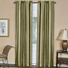 Sage Green Drapes Achim Semi Opaque Ombre Sage Polyester Curtain Panel 50 In W X