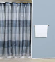Silver And Blue Curtains Famed Interdesign Ombre Shower Curtain Blue For Green Shower With