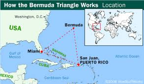 map usa bermuda bermuda triangle pictures howstuffworks