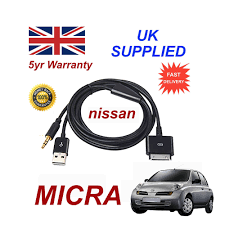 nissan micra for sale in ghana for nissan micra iphone ipod usb u0026 aux cable replacement black
