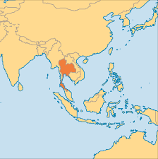Map Of Thailand Thailand Operation World