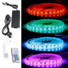 color changing led strip lights with remote 5m 10m led strip lights tv back light tape rgb colour changing