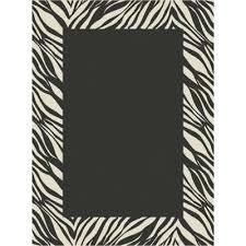 simplyshade zebra outdoor 7 foot 10 inch x 10 foot area rug in