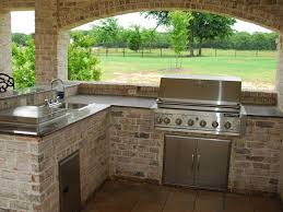 outdoor kitchen outdoor kitchen designs with black chairs stone