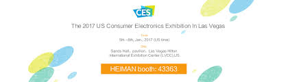 heiman welcome you to electronic high tech feast 2017 ces